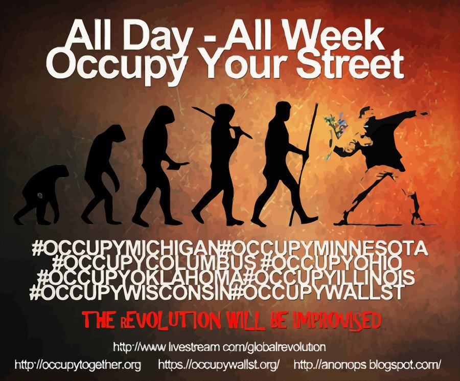 All Day - All Week - Occupy Your Street!