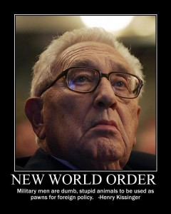 NWO: Henry Kissinger
